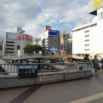★仙台駅西口のバス乗り場★⇒