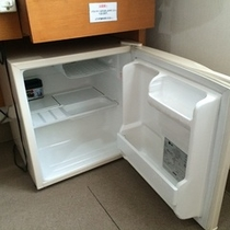 冷蔵庫完備!