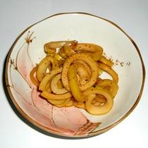 *料理一例【春】/春の訪れを感じさせる、タケノコを使ったお料理