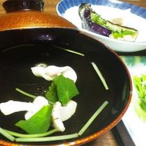 *料理一例【秋】/松茸を使ったお料理が出ることも!※仕入れ状況によります。
