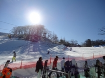 スキー場「軽井沢プリンスホテルスキー場」宿から車で約6分(平常時)