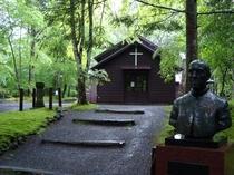 旧軽井沢:アレキサンダー・クロフト・ショー礼拝堂(当宿から車13分)