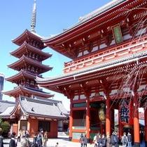 五重塔&宝蔵門