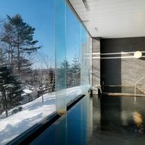 内風呂(冬)