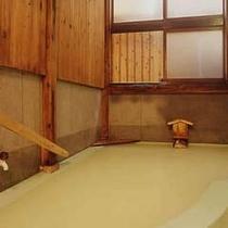 貸切露天風呂桧瓢箪(ひょうたん)
