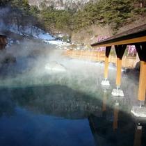 【西の河原露天風呂】大きな湯船が自慢の西の河原大露天風呂!