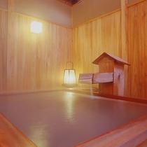貸切露天風呂桧(ひのき)