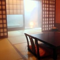 貸切露天風呂桧(ひのき) お部屋