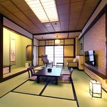 【禁煙和室】禁煙タイプの10畳または12畳和室。冬は炬燵になります。