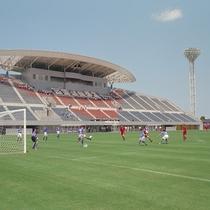 鳥取市営サッカー場『とりぎんバードスタジアム』