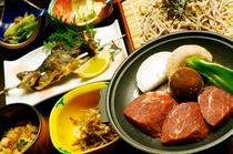 桜清水茶屋 夕食例2