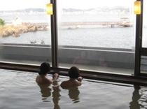 かけ流しの源泉湯マグマ温泉