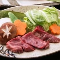 上州に来たら食べなきゃ!!グレードUP真沢会席(上州牛の陶板焼き)