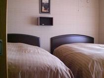 雫(客室のベッドルーム)