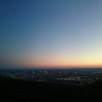 高草山夜景