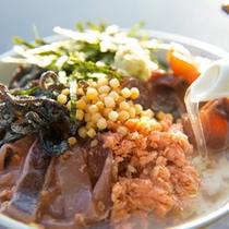 【朝食バイキング】朝からつ茶漬け(イメージ)
