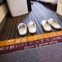 手前で靴を脱ぐので室内は清潔です!