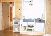 A棟のキッチン