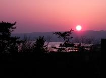 夕焼け風景