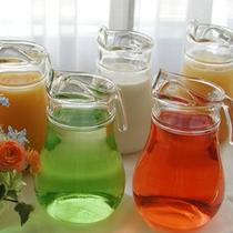 ■健康を意識したドリンクバー(朝食)