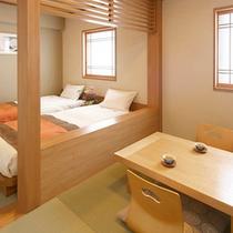 ■和洋室[2ベッド+3.1畳]