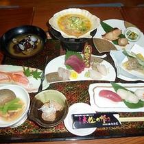 三味線居酒屋「ねぶたの國 たか久」コース料理一例