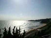 海一望♪晴れた日には伊豆七島が見えます。