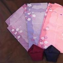 彩り浴衣(女性)3枚からお好きな柄をお選び下さい♪