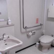 洋室(バリアフリー対応のお部屋)ツイン◆トイレ周り