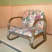 【シルバースター登録】お部屋や宴席上での、座椅子貸出しあります。