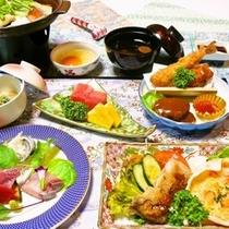小学生のお子様ご夕食一例