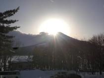 平成26年2月9日のダイヤモンド富士
