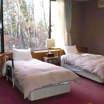 ≪部屋≫バリアフリー対応ツイン洋室