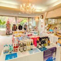 売店:富士山のお土産もたくさん!