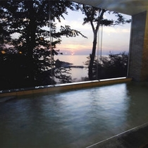 大浴場からの眺め