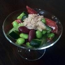 地元の新鮮な有機野菜使用♪お豆好きにはたまらない♪