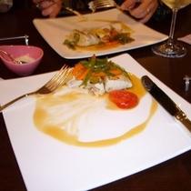 【ディナー】お肉が苦手方には・・・白身魚♪