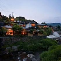 山荘松屋-遠景