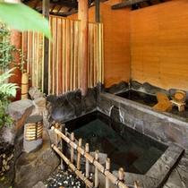 ■客室露天風呂(一例)