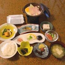 【朝食例】女将の愛情たっぷり!栄養たっぷりの手づくり和朝食♪