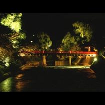 夏の中橋(夜景)
