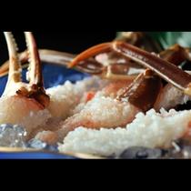 蟹のお造り(イメージ)