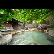 山月 夏季貸切露天風呂①