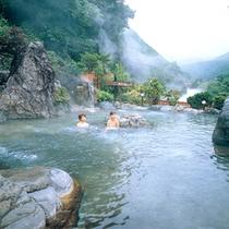 山峡槍の湯 女性専用露天風呂