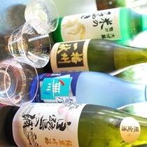 首都圏でも評価の高い姫路、播州の地酒をお楽しみください