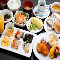 無料朝食イメージ 和洋食