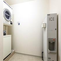 コインランドリー、製氷機