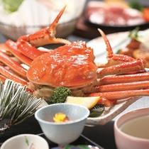冬の味覚 蟹料理一例