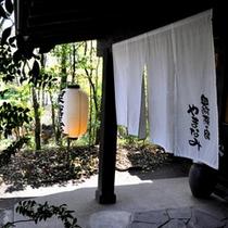【初夏の玄関】