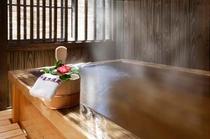 客室露天風呂(離れ)